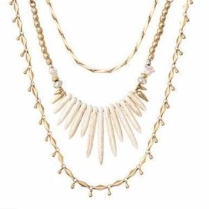 Stella & Dot Zuni Layering Necklace - 3 in 1